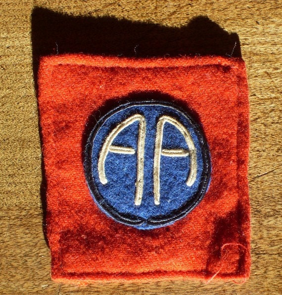 All American Ww1 Army Dogtags Pre Issue Patch 82nd Division