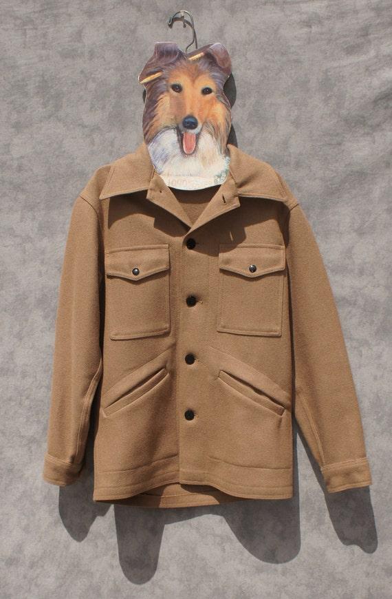 Pendleton Tan wool Mens Cruiser Jacket