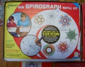 Vintage-Antique 1967 Kenner's Spirograph Toy Complete in Box