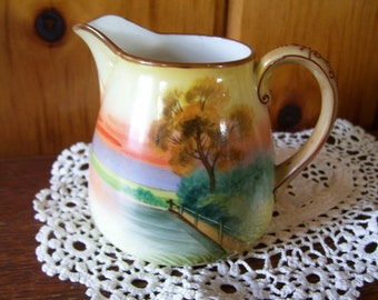 Nippon Creamer Gorgeous Victorian Circa Antique Porcelain ON SALE