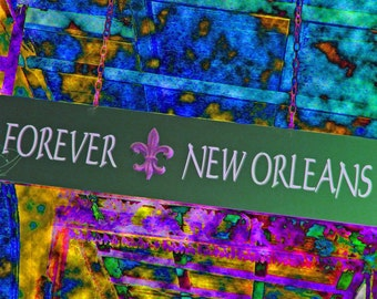 Forever New Orleans - 8x8 fine art photography- New Orleans Collection