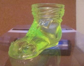 CLEARANCE     Vintage Boyd's Vaseline Baby Shoe