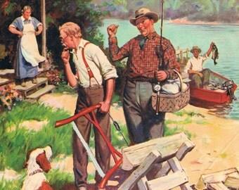 Not A Chance James C McKell Calendar Art Print