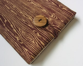 Kindle Paperwhite cover Kindle Paperwhite case (padded) ----- faux bois