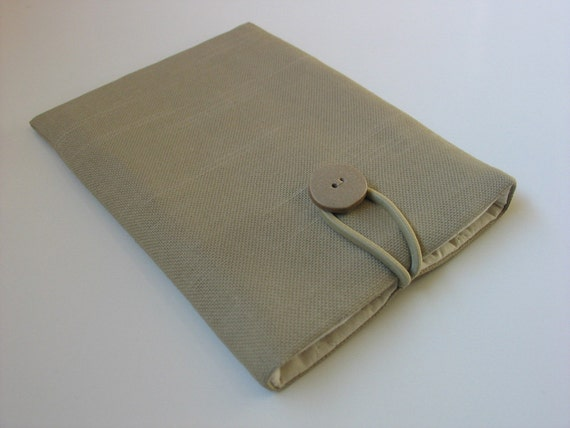 READY TO SHIP Kindle Paperwhite cover Kindle Paperwhite case (padded) -----pale green minimalist