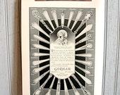 Antique Advertisement for Gorham Silver Patterns 1920's