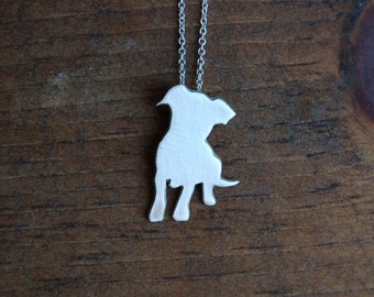 Puppy Silhouette Necklace