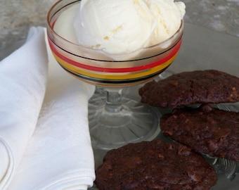 Triple Chocolate Chubbies - 8 cookies