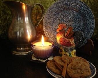 Cinnamon-Coffee Cookies - One dozen cookies