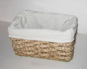 Large Rustic Wedding Basket Program Holder