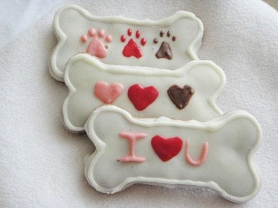3 All Natural Valentine Dog
