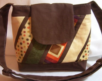 Handbag in diagonals