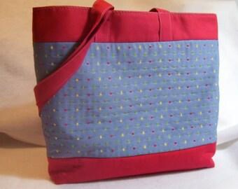 Color me Dots Tote Bag