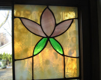 Vintage Style Stained Glass Suncatcher ORDER YOURS TODAY!