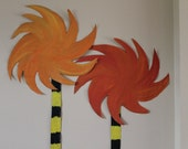Dr. Seuss Party Decor - Truffula Trees (5)