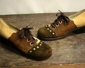 Vintage Platform Shoes Size 7 1/2