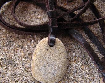 Beach Pebble Bookmark Three Strands