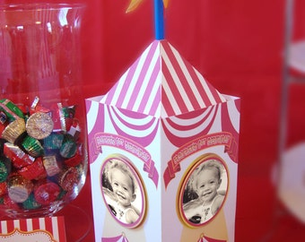 Carnival Circus themed Centerpiece