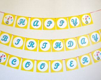 Curious George Inspired Banner