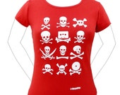 PIRATE Short sleeve T-shirt for women