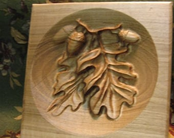 Maple Oak Leaf and Acorn Trivet