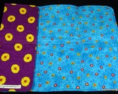 Portable Changing Pad - All Cotton - Soft, Absorbent, Fun, Practical