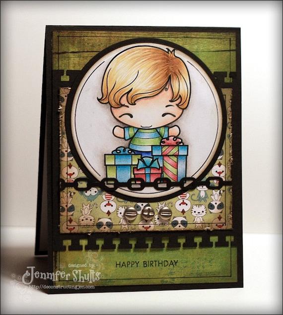 Happy Birthday, a handmade card