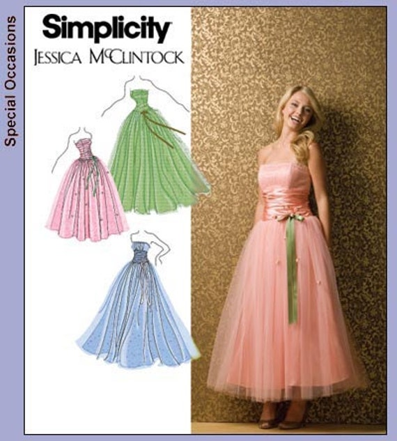 Sewing Patterns For Prom Dresses