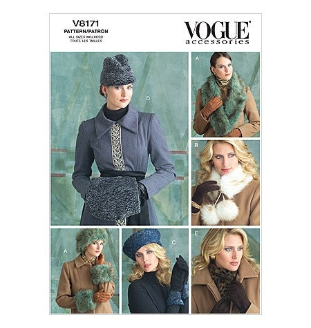 Fur Trim - Vintage Sewing Patterns
