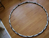 Black and White Psychedelic Adult Hula Hoop