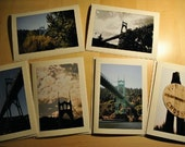 St. Johns Bridge Blank Note Card Set of 6
