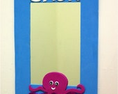 MADE TO ORDER - Tub Time Fun Mirror / Octopus
