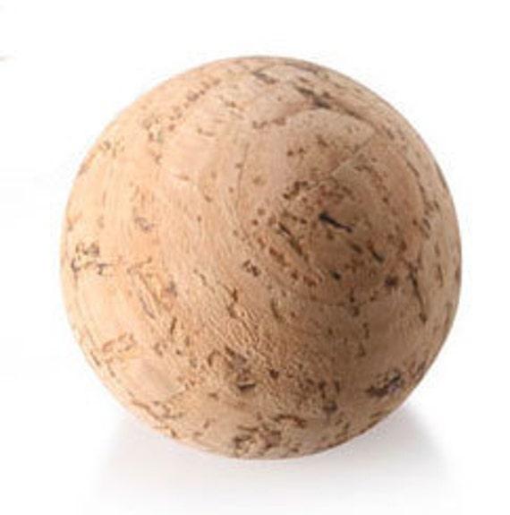 Cork Balls, Natural Premium Cork Balls, 10 New, Fun Cork Craft
