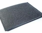 """Macbook Air 11""""  or 13"""" Sleeve - 100% Merino wool - Charcoal - Landscape"""