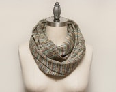 LARGE Missoni Knit Infinity Scarf // Syracuse Evergreen // by OLA