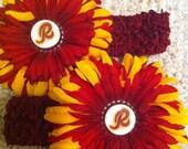 Redskins NFL Hair Flower