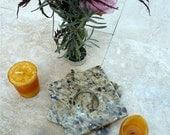 Granite Tea Candle Holder and Floral Vase