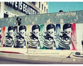 los angeles street art photograph