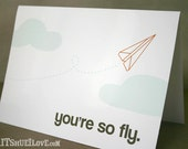 You're So Fly Card & Envelope
