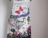 RESERVED.....funky cotton dress, up for someone fun....