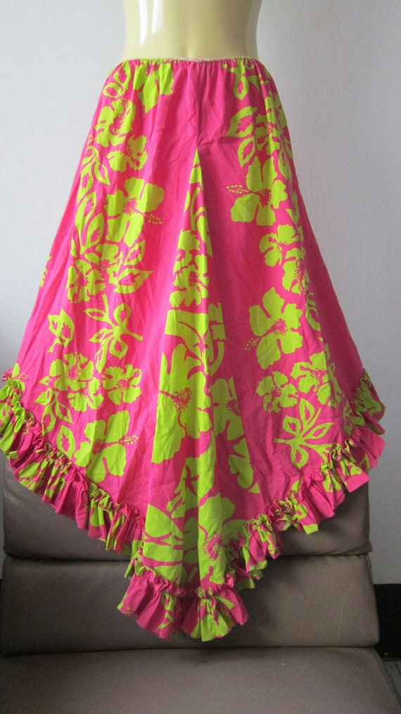 tropical mermaid with a vibrant splash of colour......ruffles and fishtail...