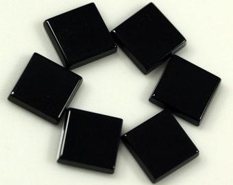 Onyx square cabochon 12 mm 120CB