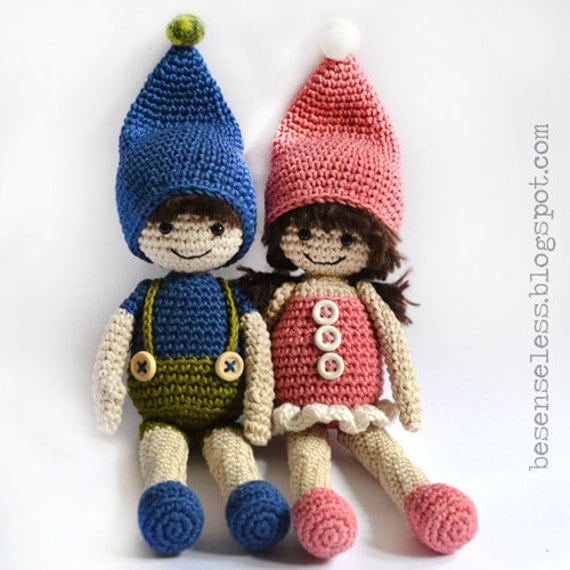 Items similar to G. and L. - amigurumi pattern (eng) on Etsy