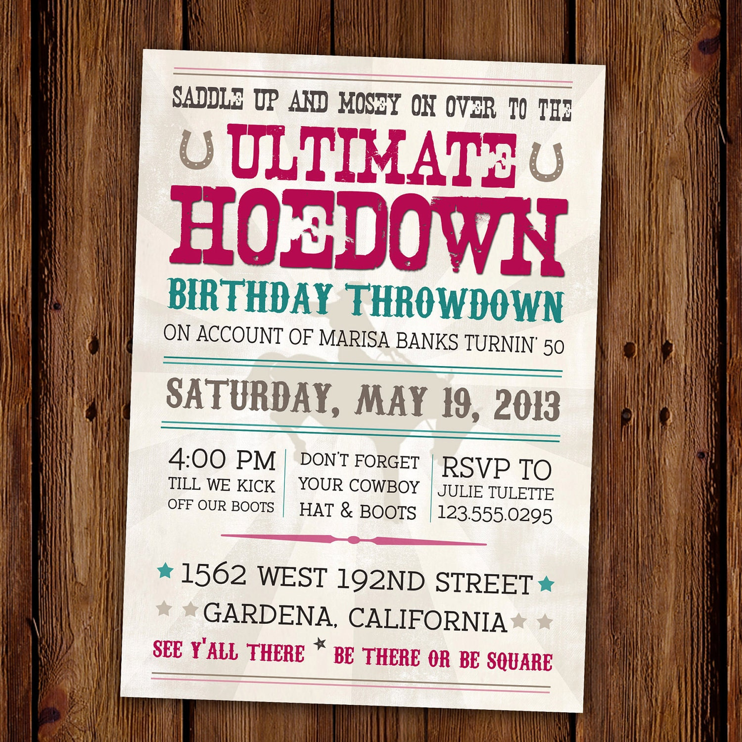 Cowgirl Invitation Wording as amazing invitations layout