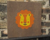 Liam the Lion Wall Art