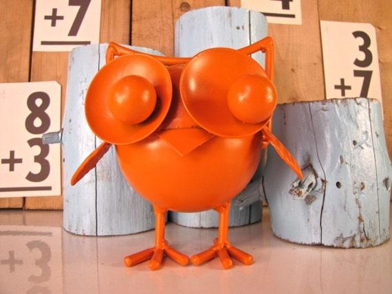 Night Owl in Orange