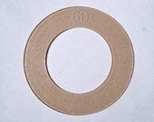 Size 60 ( 1 1/2 inch) Cover Button Template