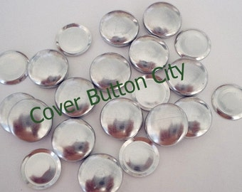 FLAT BACKS - 200 Covered Buttons Size 20 (1/2 inch)