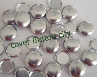 Flat Backs - 100 Cover Buttons Size 24 (5/8 inch)