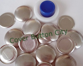 Size 36 (7/8 inch) Cover Button Starter Kit - Flat Backs